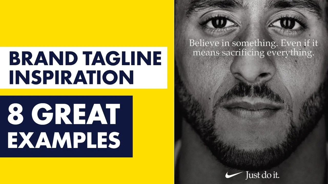 Great Brand Tagline Examples