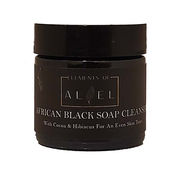 African black soap cleanser