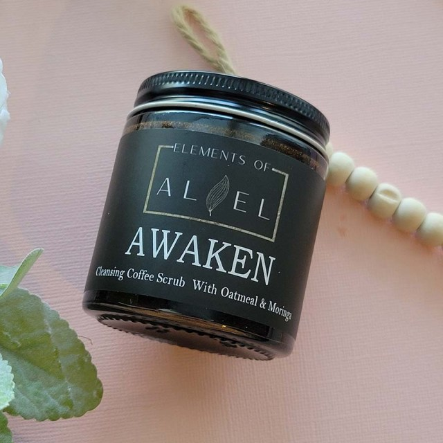 awaken coffee scrub