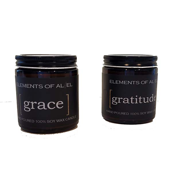 grace and gratitude candle