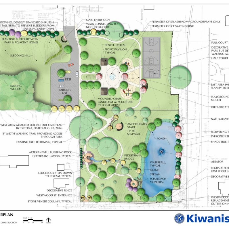 Cold Spring Park Site Plan