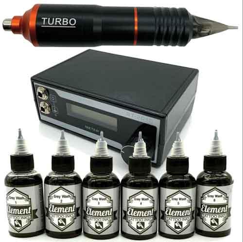Professional tattoo kit by Element Tattoo Supply