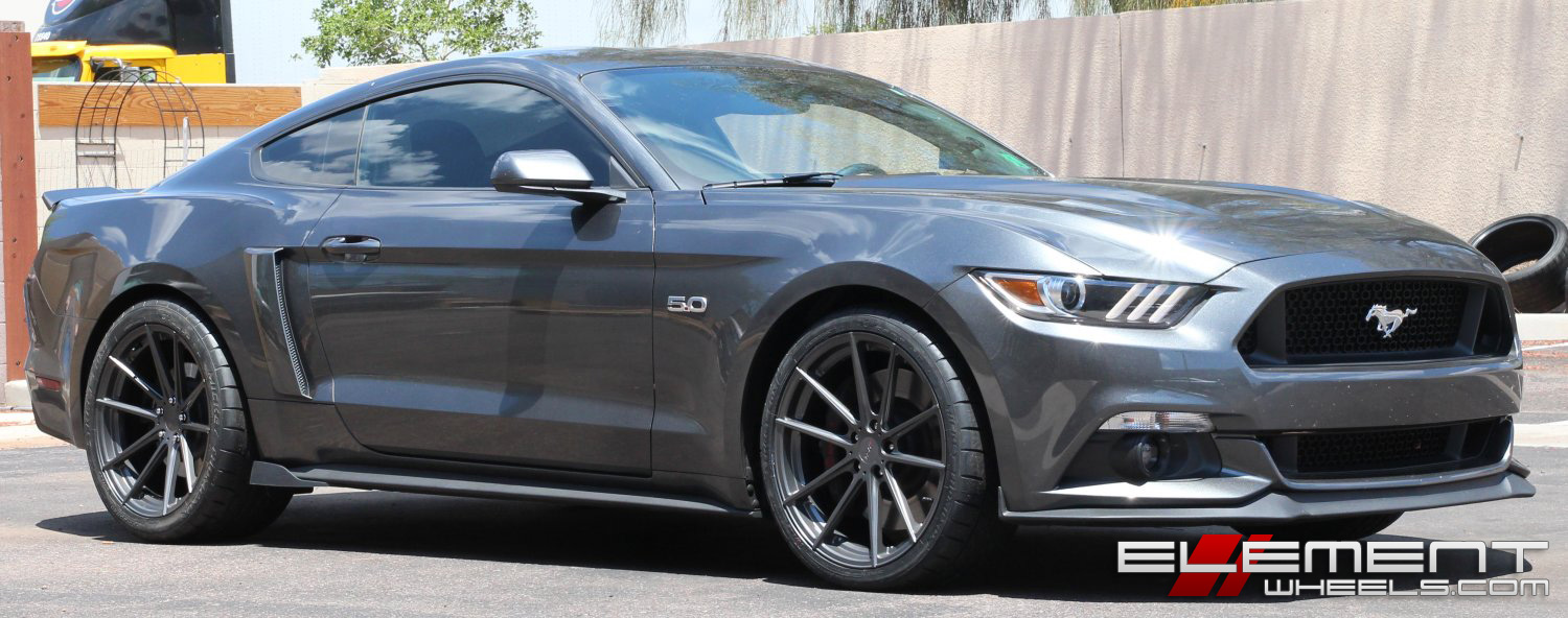 2015 Mustang Gt Staggered Wheels