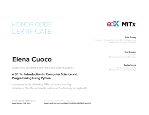 CertificatePython