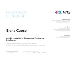 CertificatePython2