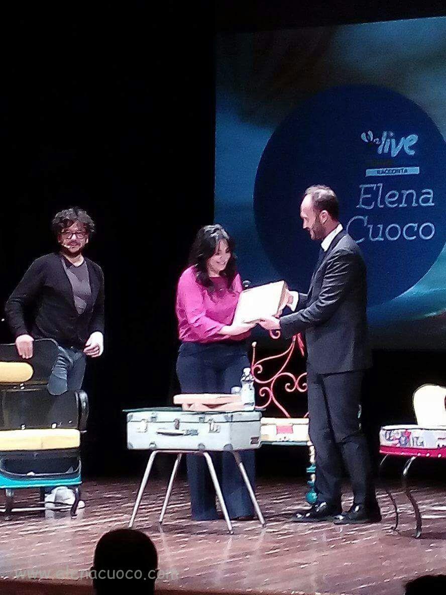 Premiazione da parte del sindaco Francesco Zaccaria