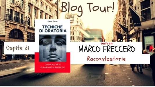 Blog Tour Tecniche di Oratoria Marco Freccero