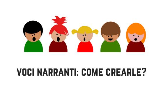 Come creare le varie voci dei personaggi di una storia