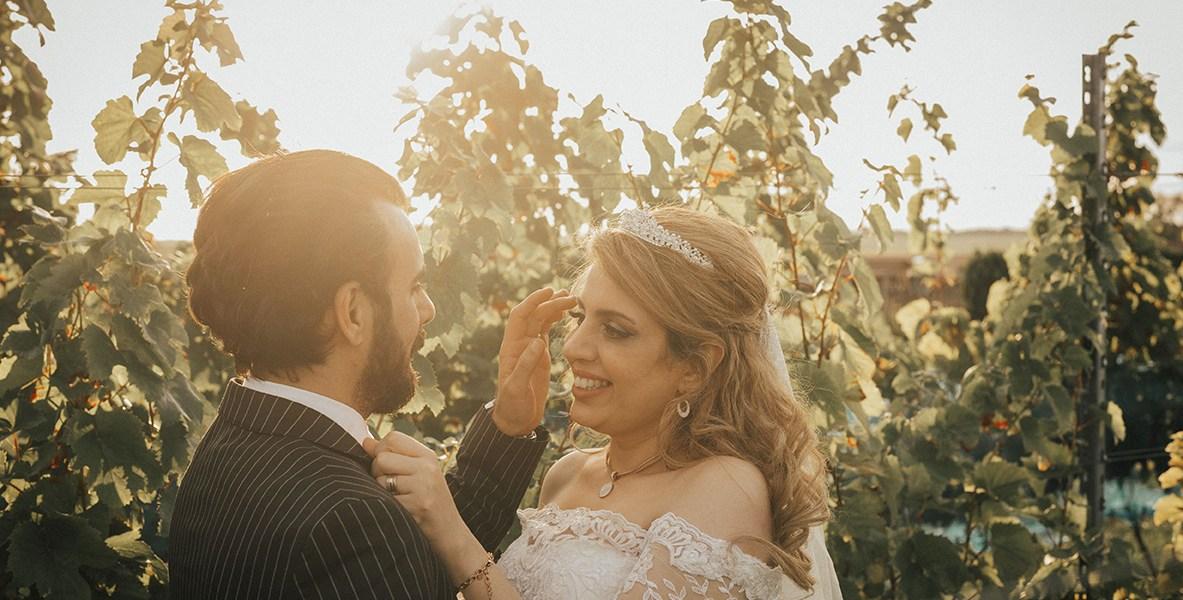 Rustiek huwelijk op het Vlaamse platteland