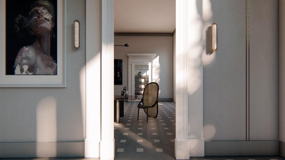 Wohnung 1010 Wien, Innenarchitektur und Styling, Design Interior, 3D Visualisierung