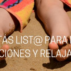 Relajáte y Disfruta de las ansiadas Vacaciones