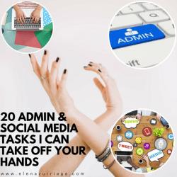 20 Admin and Social Media Tasks