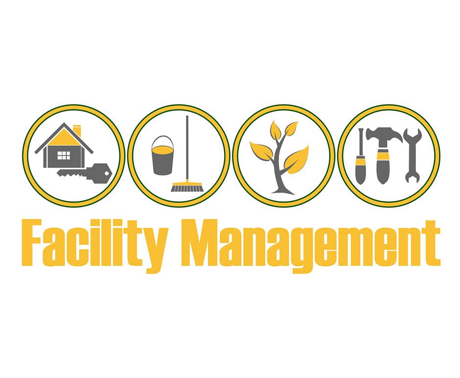 facility management logo hausmeisterservice logo eleneo geb udereinigung bergisch. Black Bedroom Furniture Sets. Home Design Ideas