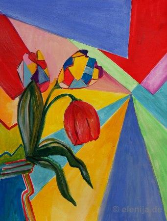 Tulpe-Mosaik