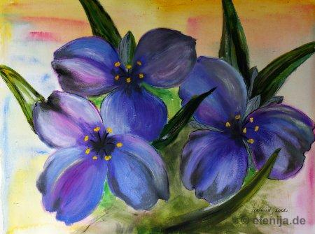 Blumen Trio, von Elenija