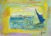Postkarte vom Meer