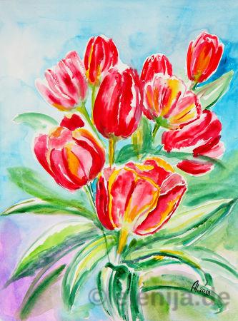 Elenas Blumenstrauß, von Elenija