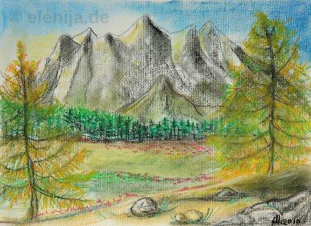 Die Kraft der Berge, von Elenija