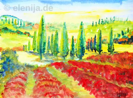Toskana, von Elenija