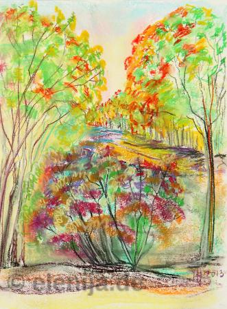 Herbstbeginn, von Elenija