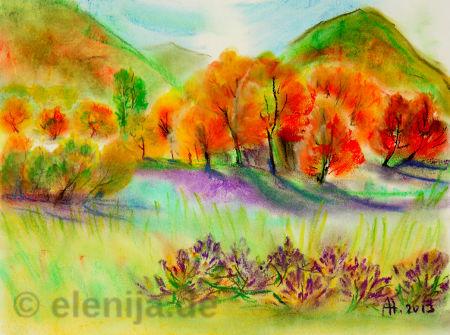 Oktobertag, von Elenija
