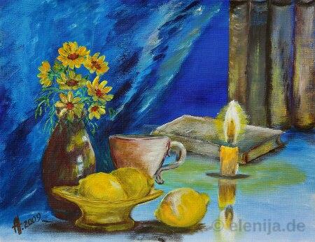 Tee mit Zitronen, Elenija, www.elenija.de