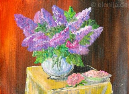 Das Aroma des Flieders, von Elenija