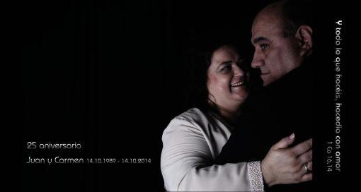 25 aniversario Juan y Carmen