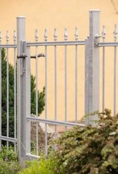 Gartentor Ravenna in feuerverzinkter Ausführung