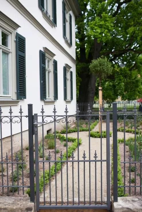 Gartentor Lucca in pulverbeschichteter Ausführung