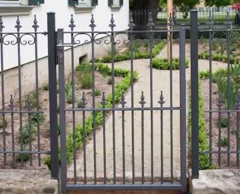 Gartentor Lugano in pulverbeschichteter Ausführung