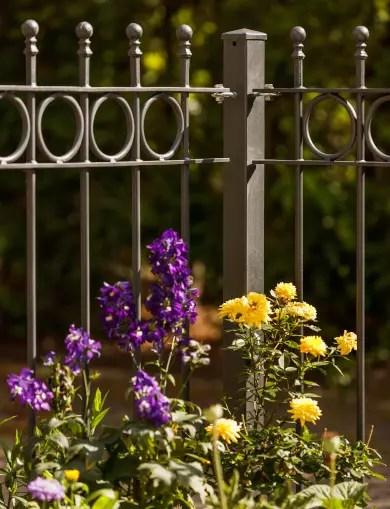 Gartenzaun Metall
