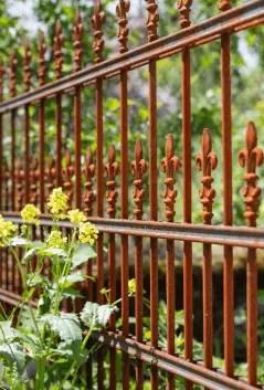 Antiker Zaun Lugano in unbeschichteter Ausführung