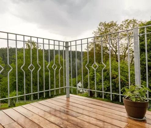 Geländer Bausatz Portofino in feuerverzinkter Ausführung