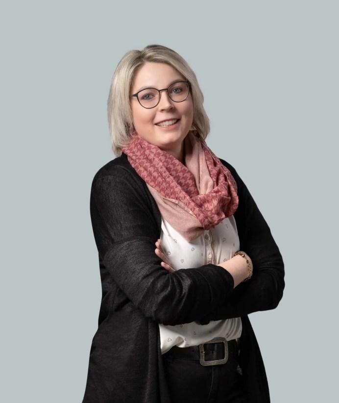 Mitarbeiterin Lisa Walter