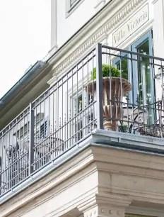 Geländer Lucca in pulverbeschichteter Ausführung