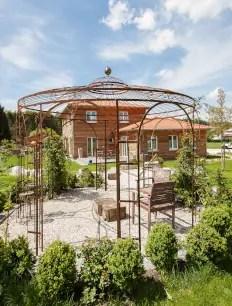 Pavillon Florenz in unbeschichteter Ausführung