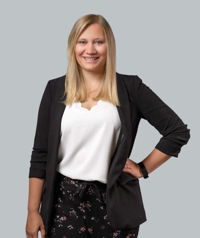 Mitarbeiterin Anna Leja