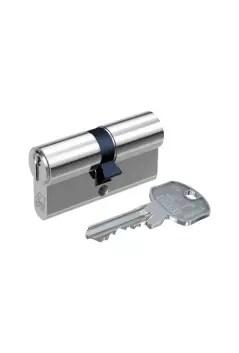 Schliesszylinder silber und Schlüssel