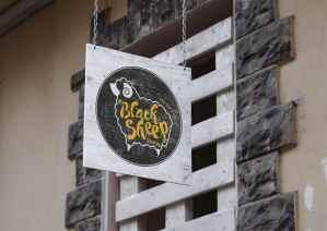 Black Sheep Otricoli - Logo Signage