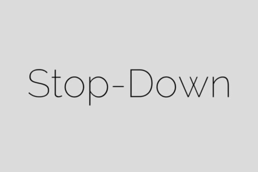 Stop-Down
