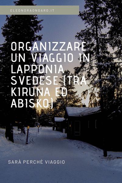 Come organizzare un viaggio in Lapponia