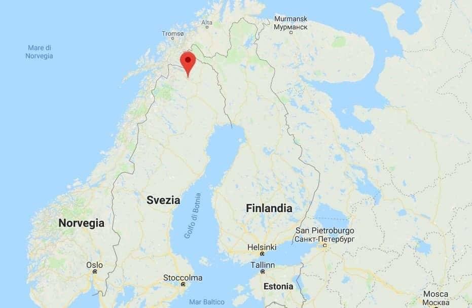 Kiruna Lapponia svedese dove si trova