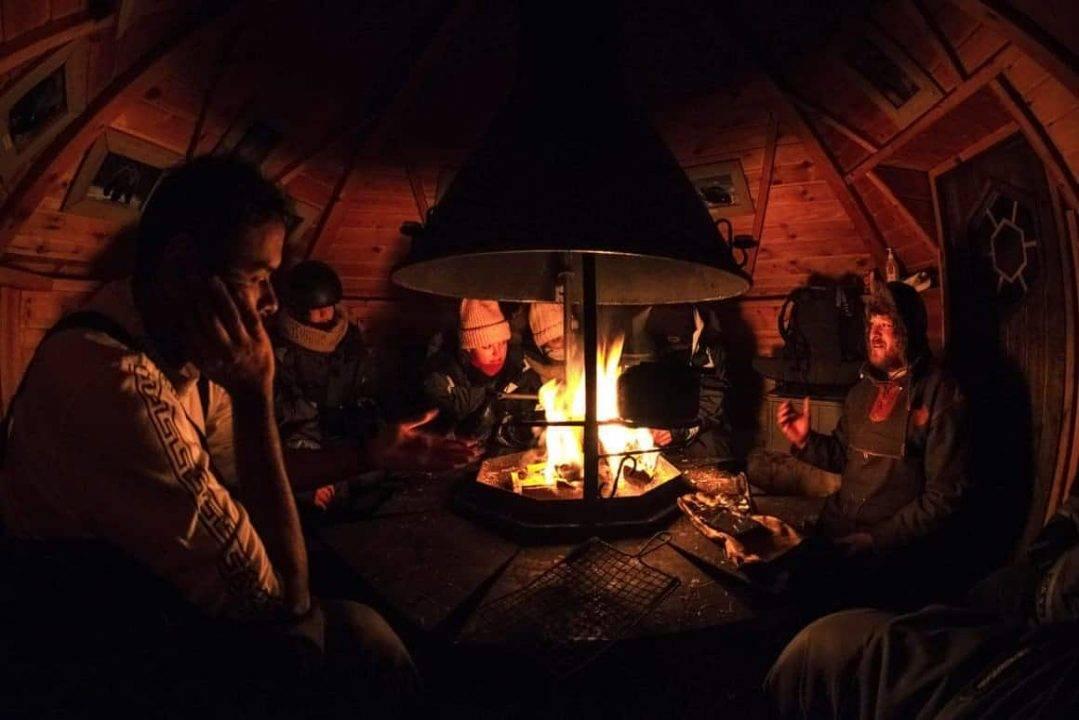 Spedizione aurora Lapponia svedese