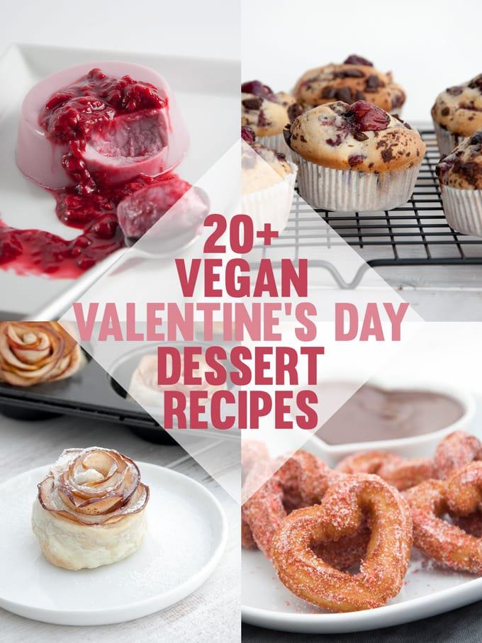 Vegan Valentine's Day Dessert Recipes