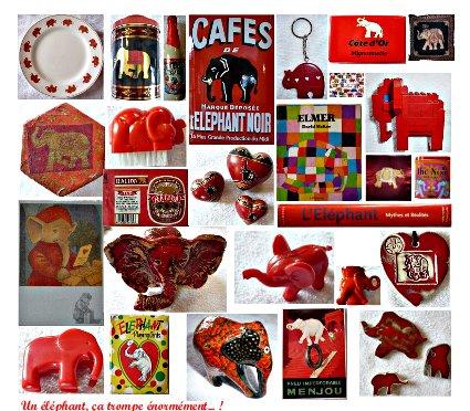 Quand un éléphant voit rouge...