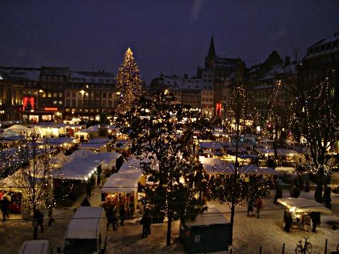 Strasbourg, place kleber © Françoise Burgunder