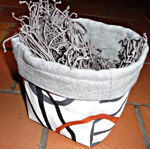 Pot en tissus © Lumane
