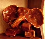 éléphant   céramique  © 1999 -  Michèle Ruffin
