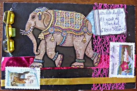 Jeu Mail Art Fanny